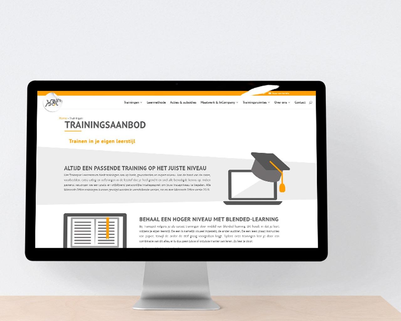 Sneak peek nieuwe website