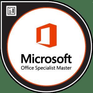 Microsoft Office Specialist MOS certificaat