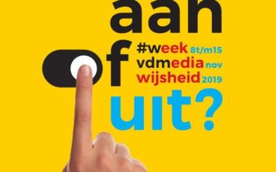 Week van de Mediawijsheid van 8 t/m 15 november